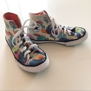 Converse High Tops Paint Splash